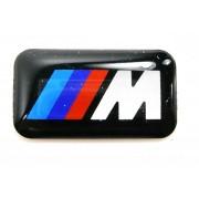 PLAQUETTE M DE ROUE JANTE BMW