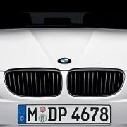 E90 et E91 avant 09/2008 CALANDRE BMW PERFORMANCE NOIR