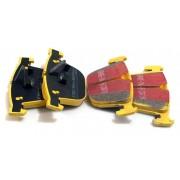 E6X/E7X/E9X-PLAQUETTE ARRIERE EBC YELLOW STUFF - DP41451R