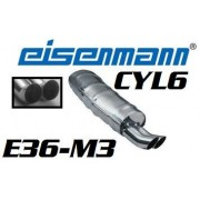 SILENCIEUX INOX E36-M3 2x70mm-DTM